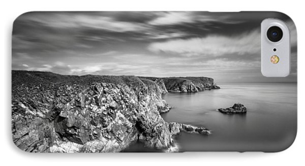 Bullers Of Buchan Cliffs IPhone Case by Dave Bowman