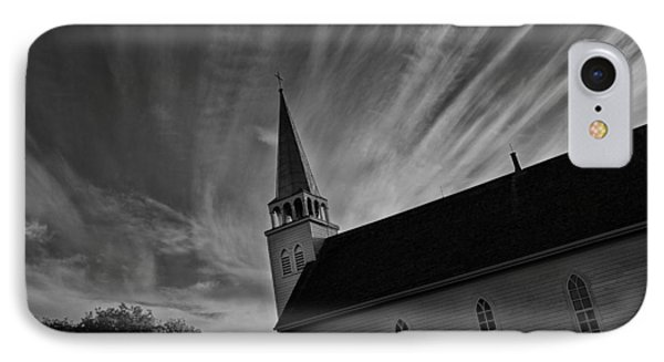 IPhone Case featuring the photograph Bullet Riddled Church by Ryan Crouse
