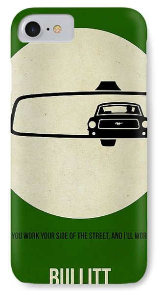 Bullitt Poster IPhone Case by Naxart Studio