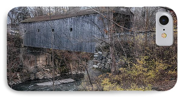 Bulls Bridge Covered Bridge IPhone Case