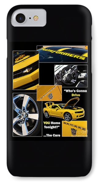 Bumble Bee-drive - Poster Phone Case by Gary Gingrich Galleries