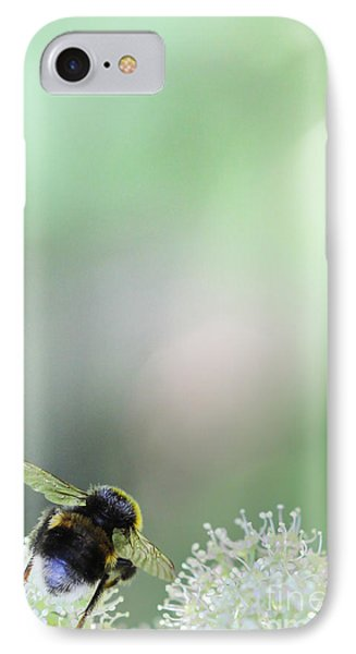 IPhone Case featuring the photograph Bumble Bee by Jivko Nakev