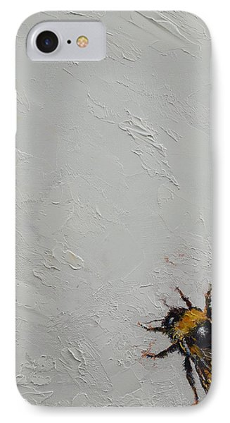 Bumblebee IPhone Case by Michael Creese