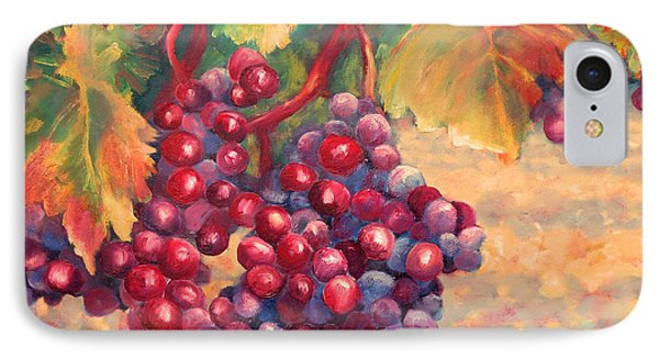 Bunch Of Grapes Phone Case by Carolyn Jarvis