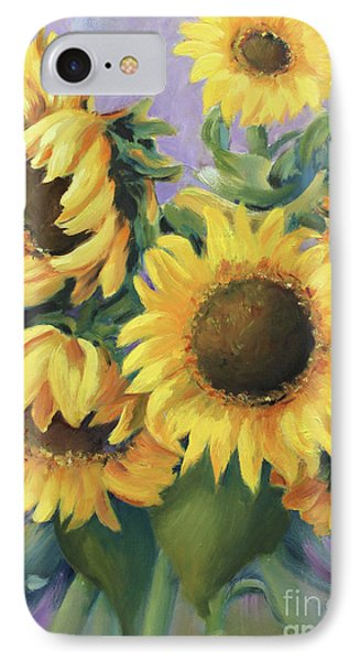 Bunch Of Sunflowers IPhone Case by Marta Styk