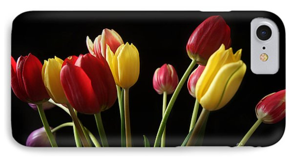 Bunch Of Tulips IPhone Case by Eden Baed