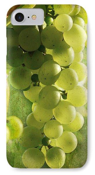 Bunch Of Yellow Grapes Phone Case by Barbara Orenya