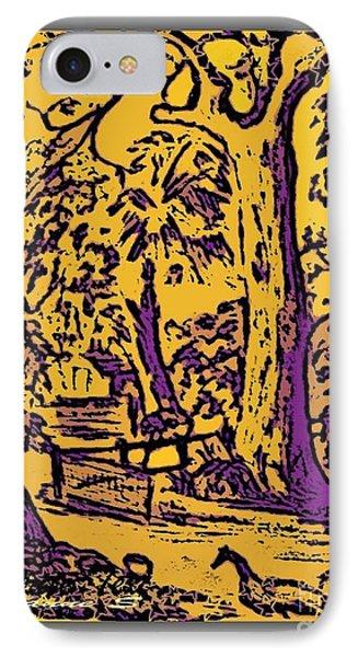 IPhone Case featuring the digital art Bundeena Bliss by Leanne Seymour