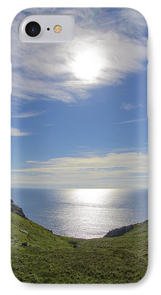 Bunglass Donegal Ireland - Seascape IPhone Case by Bill Cannon