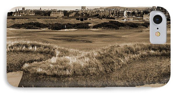 IPhone Case featuring the photograph Bunker At St. Andrews Old Course Scotland by Sally Ross