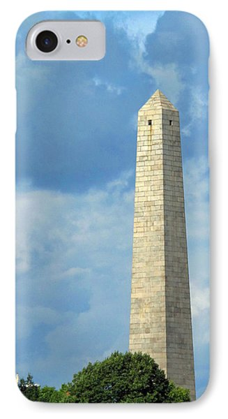 Bunker Hill Monument Phone Case by Barbara McDevitt