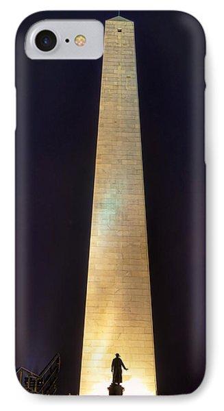 Bunker Hill Monument Phone Case by Joann Vitali