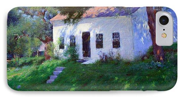 Bunker's Roadside Cottage IPhone Case by Cora Wandel