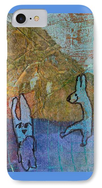 Bunny Ballet IPhone Case by Catherine Redmayne