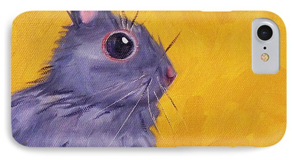 Bunny IPhone Case by Nancy Merkle