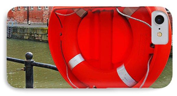 Buoy Foam Lifesaving Ring Phone Case by Luis Alvarenga