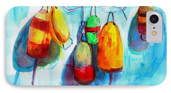 Colorful Buoys IPhone Case by Patricia Awapara