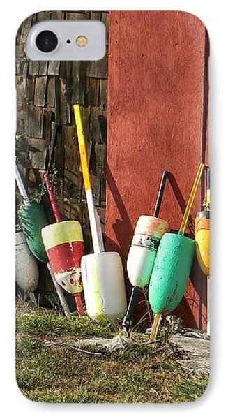 Buoys IPhone Case by Jean Goodwin Brooks