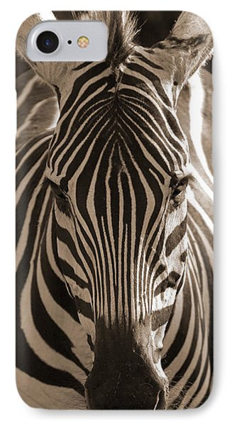 IPhone Case featuring the photograph Burchell's Zebra by Chris Scroggins
