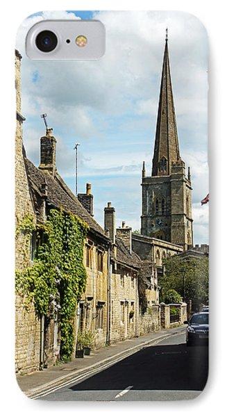 Burford Village Street IPhone Case by Tony Murtagh
