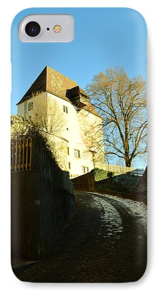 IPhone Case featuring the photograph Burgdorf Castle In December by Felicia Tica
