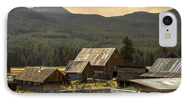 Burgdorf Hot Springs In Idaho IPhone Case by For Ninety One Days