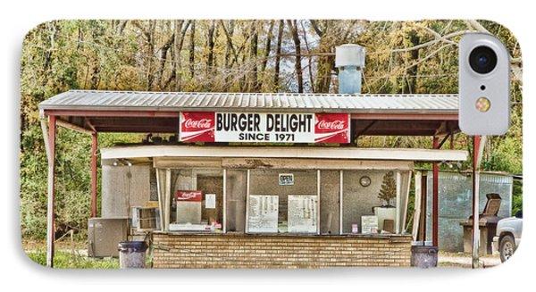 Burger Delight Phone Case by Scott Pellegrin