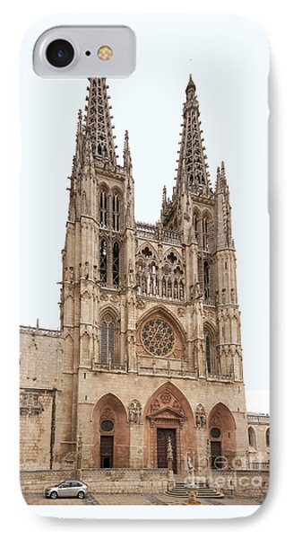 Burgos Cathedral Spain Phone Case by Rudi Prott
