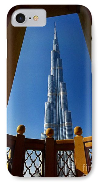 IPhone Case featuring the photograph Burj Khalifa by Henry Kowalski