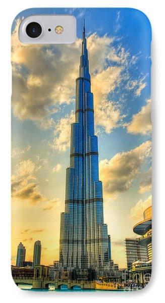 Burj Khalifa Phone Case by Syed Aqueel