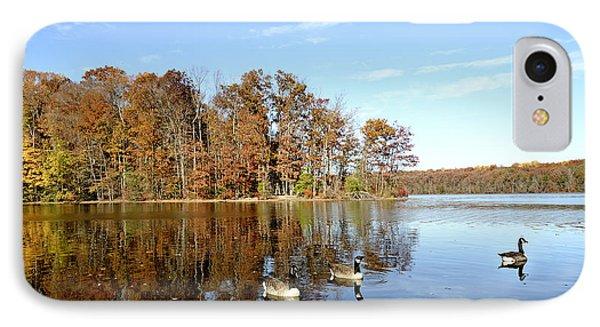 Burke Lake Park In Fairfax Virginia IPhone Case