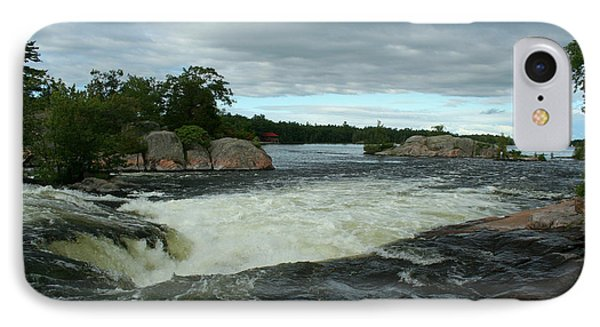 IPhone Case featuring the photograph Burleigh Falls by Barbara McMahon