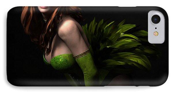 IPhone Case featuring the digital art Burlesque by Sandra Bauser Digital Art