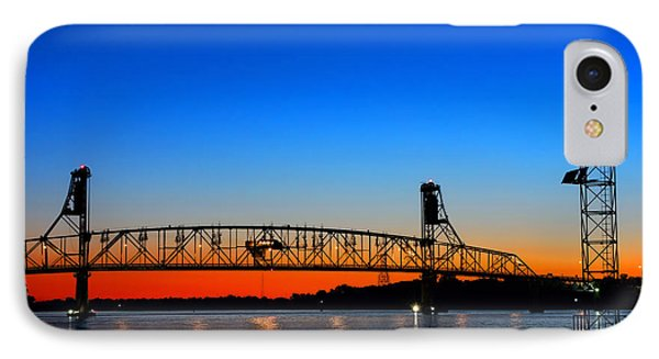 Burlington Bristol Bridge Phone Case by Olivier Le Queinec