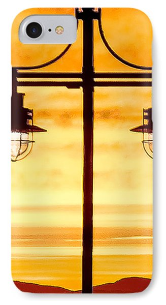 Burlington Dock Lights IPhone Case