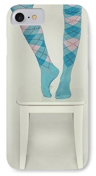 Burlington Socks Phone Case by Joana Kruse