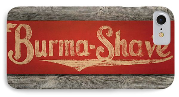 Burma-shave Sign Phone Case by Bill Jonas