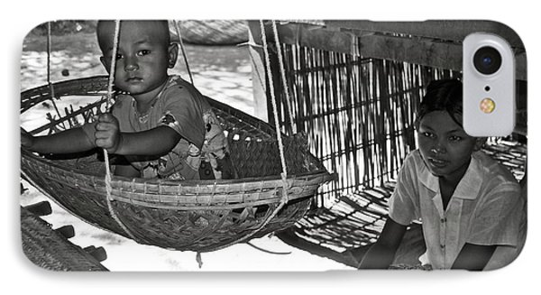 Burmese Mother And Son Phone Case by RicardMN Photography