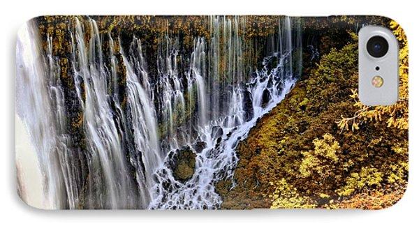 Burney Falls 2 IPhone Case
