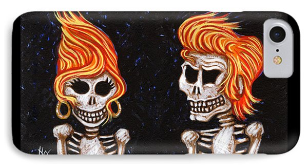 Burnin' Love 4 Ever IPhone Case by Holly Wood