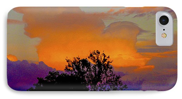 Burning Bush Phone Case by Robert J Andler