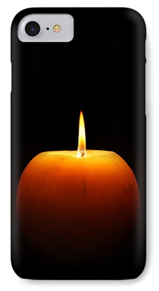 Burning Candle Phone Case by Johan Swanepoel
