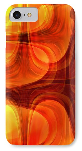 IPhone Case featuring the photograph Burning Cross by Martina  Rathgens