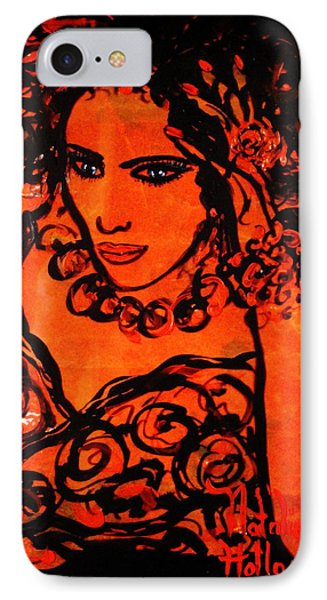 Burning Desire Phone Case by Natalie Holland