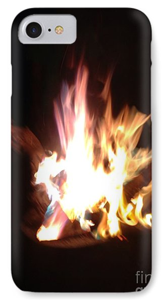 Burning For You IPhone Case by Fania Simon