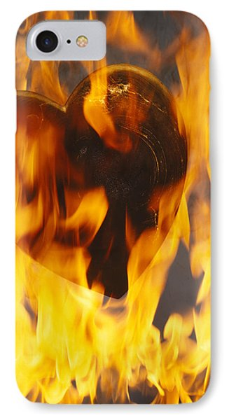 Burning Love C1978 IPhone Case by Paul Ashby