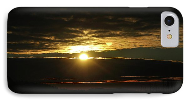 Burning Skies IPhone Case