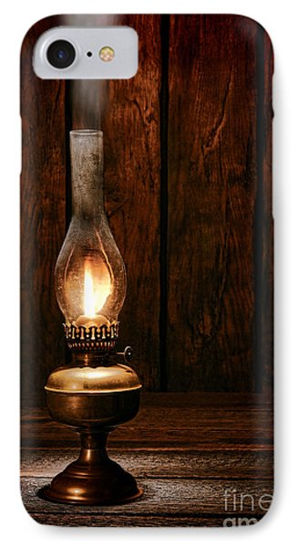 Burning The Midnight Oil IPhone Case by Olivier Le Queinec