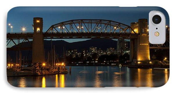 Burrard Bridge In The Evening IPhone Case