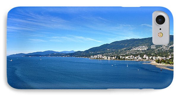 Burrard Inlet Vancouver IPhone Case by Aged Pixel